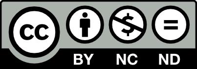 Licença: Creative Commons Attribution Non-Commercial Non-Derivatives