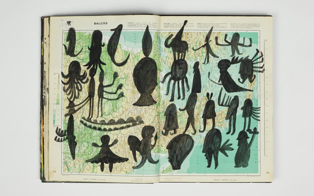 Grande Atlas Mundial / Luís Silveirinha. [S.l.] : Luís Silveirinha, 2016. Exemplar único. E-LA 62