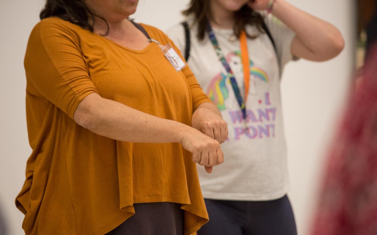 Dança de gestos mínimos
