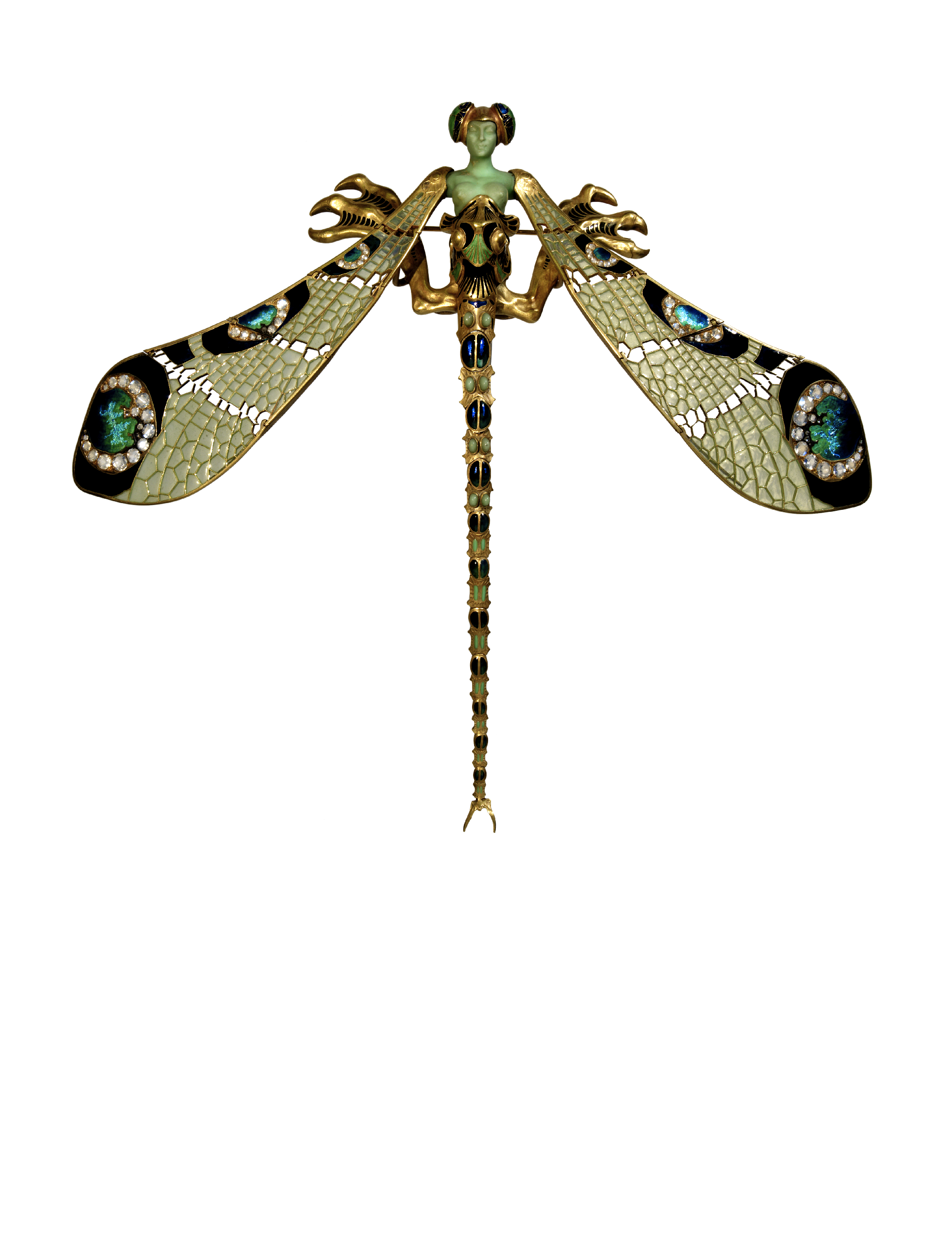 Women Ladies Dragonfly Brooch Enamel Insect Brooches Jewelry Ornaments T