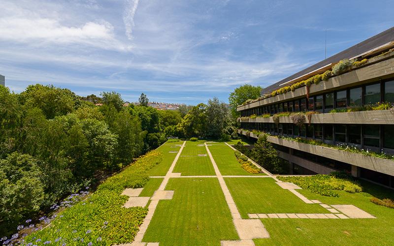 Visita combinada ao Edifício e Jardim