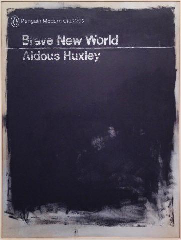 """João Louro, """"Brave New World"""", 2014. Acrílico sobre tela crua. Coleção Moderna"""