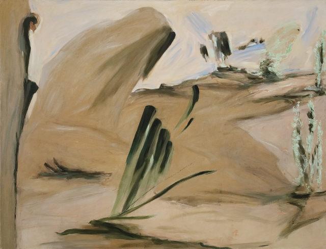 João Queiroz, Sem título, 2005. Óleo sobre tela. Coleção do Fundador