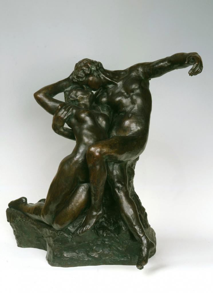 """Auguste Rodin, """"A Eterna Primaveira"""", c. 1898. Bronze. Coleção do Fundador"""