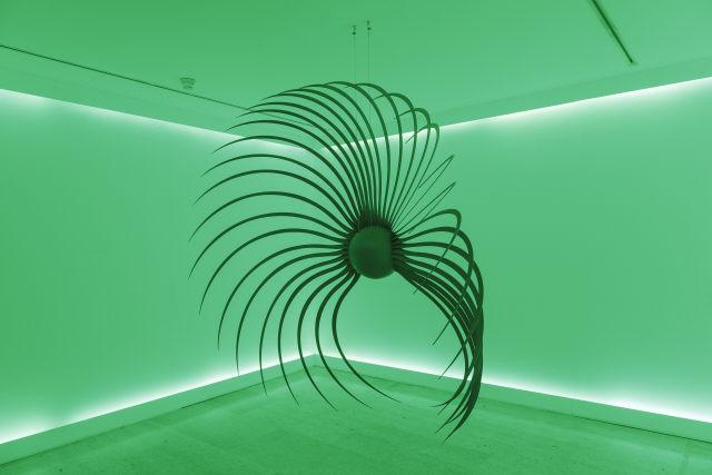 "Rui Chafes, ""Burning in a Forbidden Sea"", 2011. Ferro. Coleção Moderna"