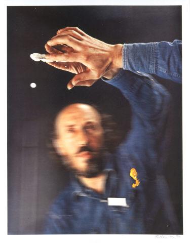 "Richard Hamilton, ""Mirror Image"", 1974. Colotipo sobre papel Schoeller. Coleção Moderna"