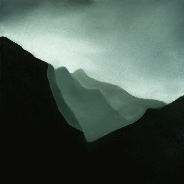 Inês Cannas, Sem título (PIQ 6), 2000. Óleo sobre madeira. Coleção Moderna