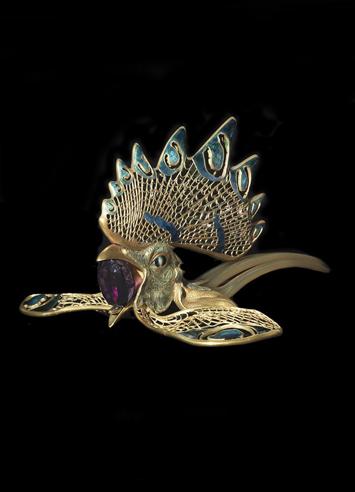 René Lalique, Diadema «Galo».