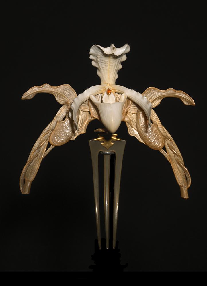 René Lalique, Diadema «Orquídeas».