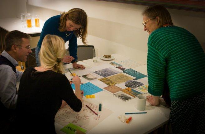 A workshop in progress