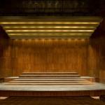 GA - Palco elevador 7 subido para Coro e Orquestra