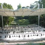 Anfiteatro ao ar livre (montagem)