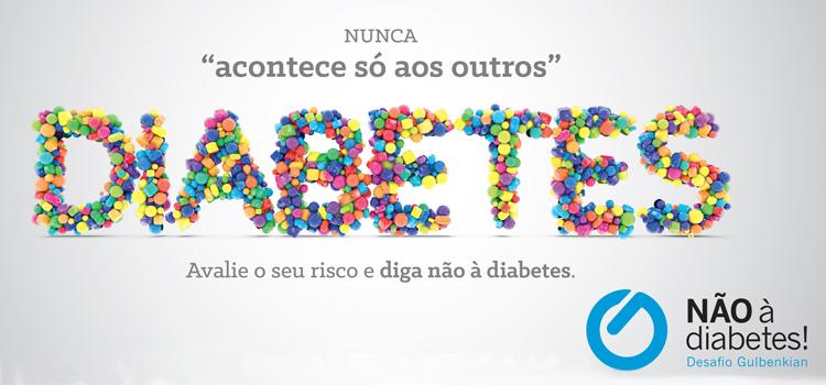 Não à Diabetes!