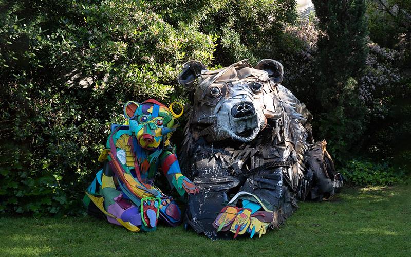 Half Bear de Bordalo II