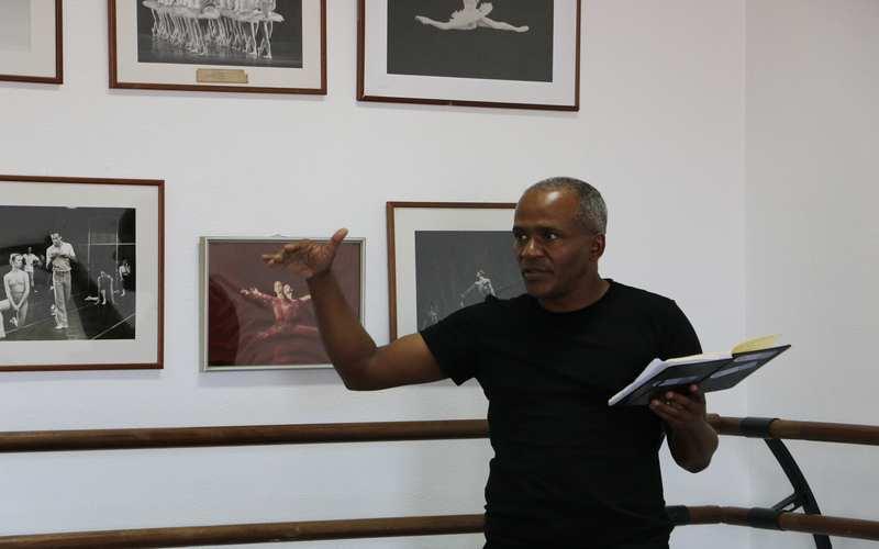 Mano Preto em residência artística em Lisboa