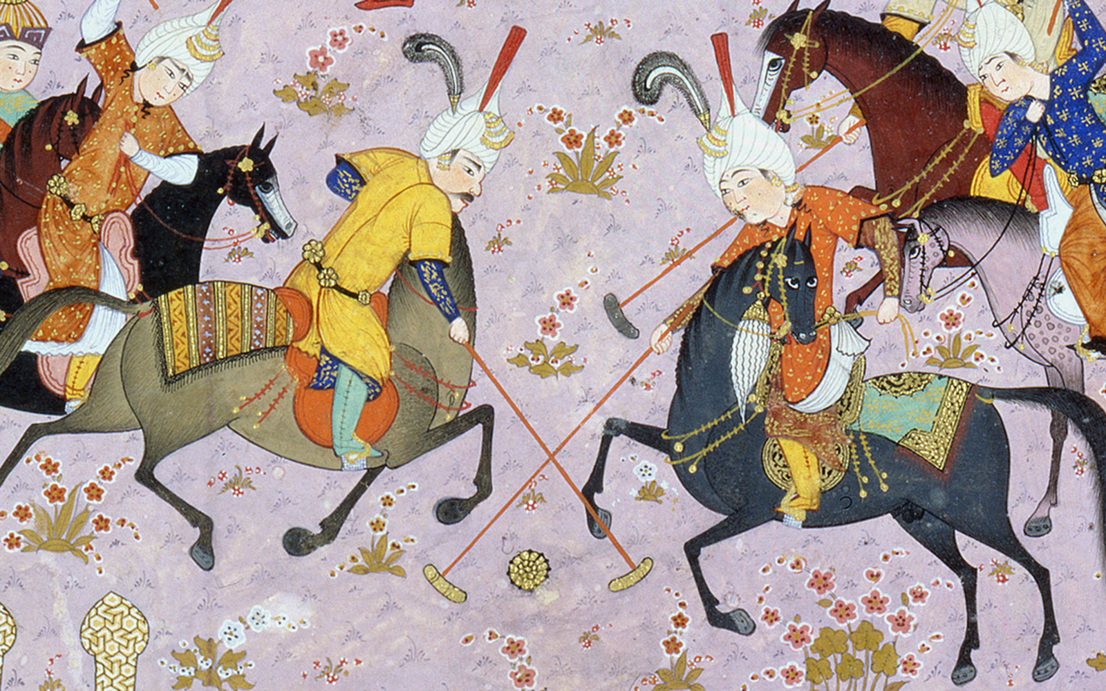 The game of polo © Gulbenkian Museum