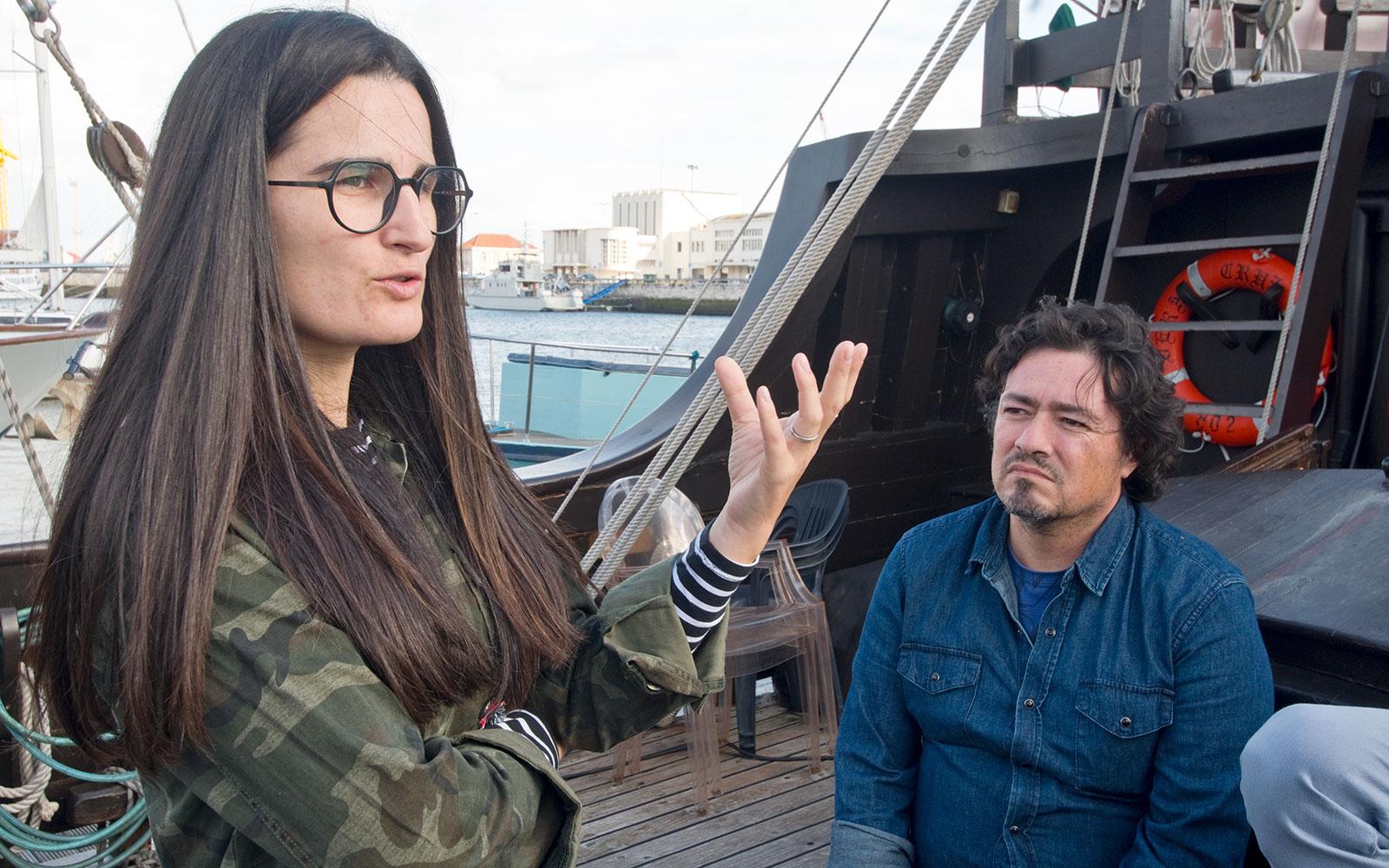 Catarina Aidos e João Custódio © Márcia Lessa