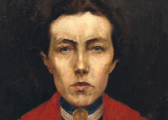Pormenor Autorretrato, 1900   (Aurélia de Souza, 1866-1922) ©MNSR/DGPC/ADF/Manuel Palma