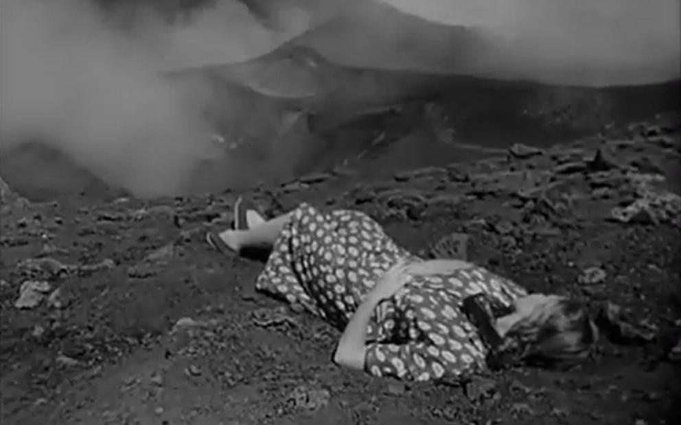 Imagem do filme Stromboli (1950) de Roberto-Rossellini