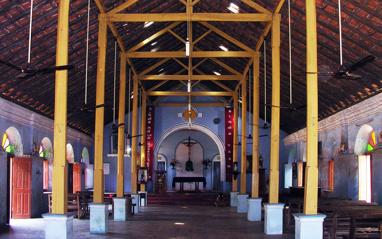 Sri Lanka, igreja oratoriana © DR