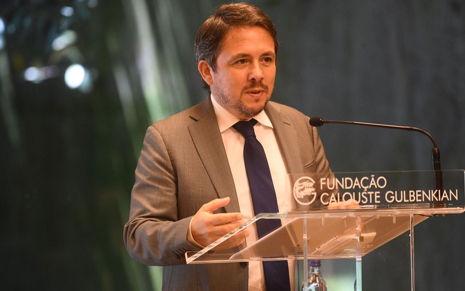 Intervenção do Secretário de Estado da Saúde, Diogo Serras Lopes © Márcia Lessa